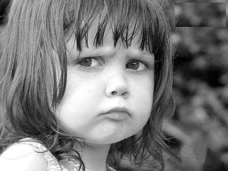 angry face little girl kritie sood kritieeoh